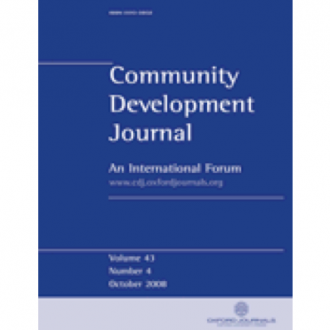"""'Unpacking """"Participation"""": Models, Meanings and Practices', Community Development Journal, 2008"""