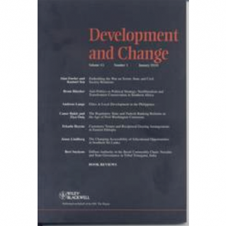'Myths to Live By: Female Solidarity and Female Autonomy Reconsidered', Development and Change, 38(1):149-168, 2007.